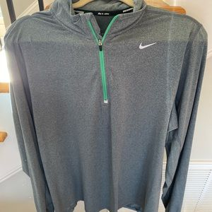 Gray Nike pullover. Priced to sell!